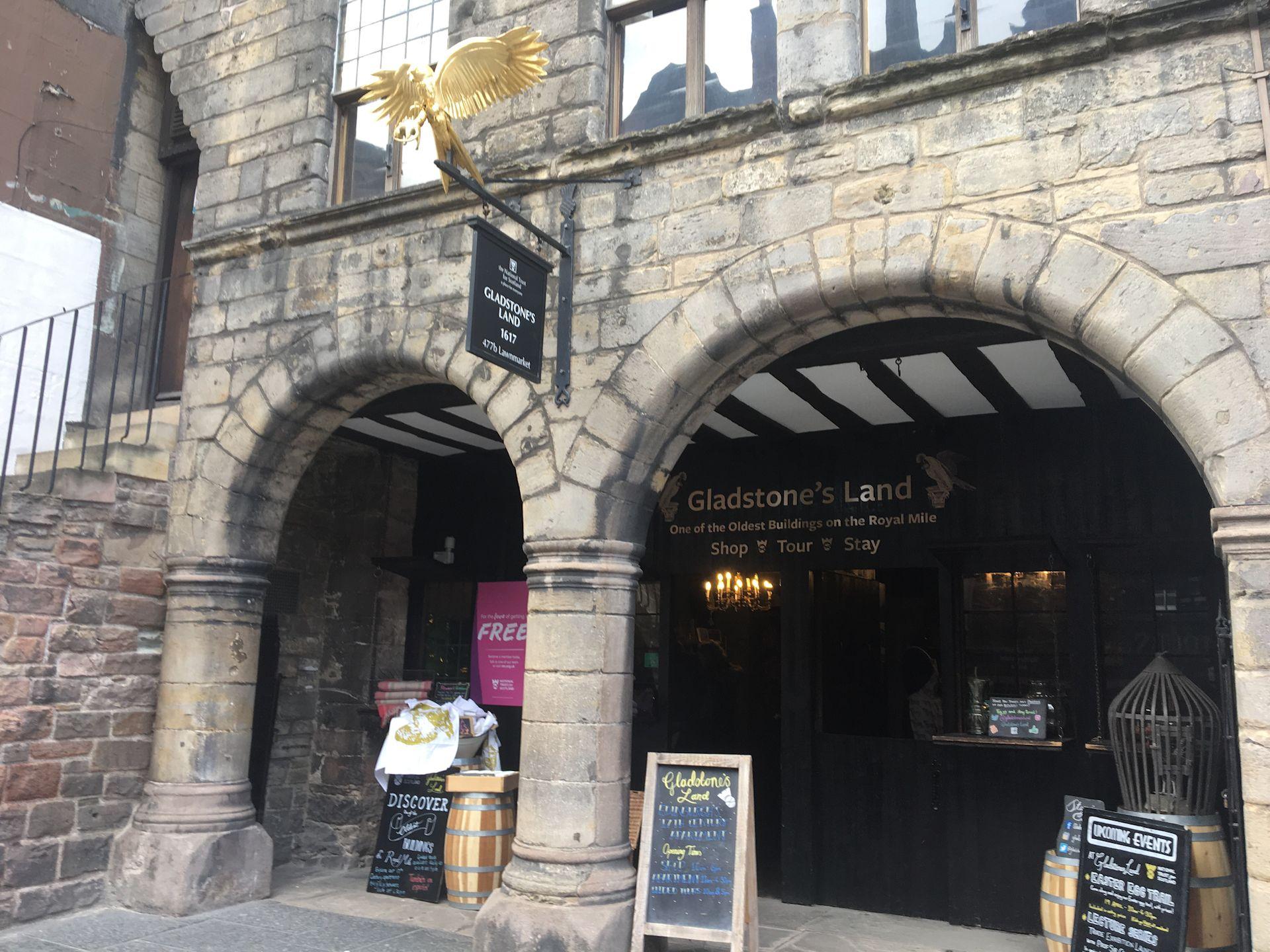 Gladstones Land Edinburgh