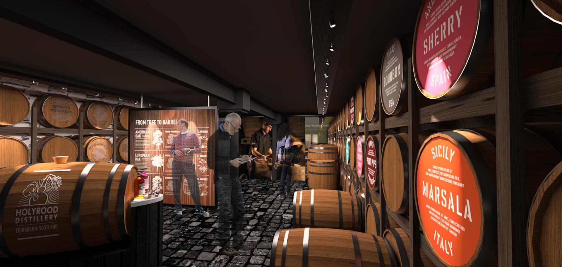 Hollyrood Distillery Edinburgh City Pass